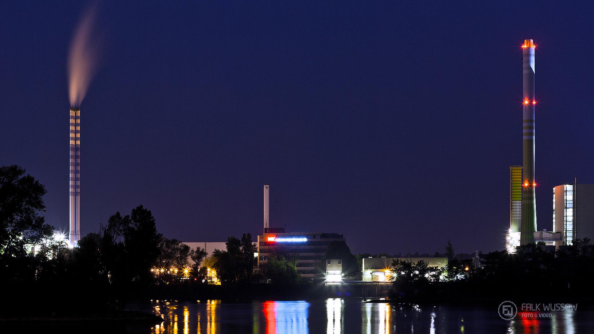 Lichter am Rhein
