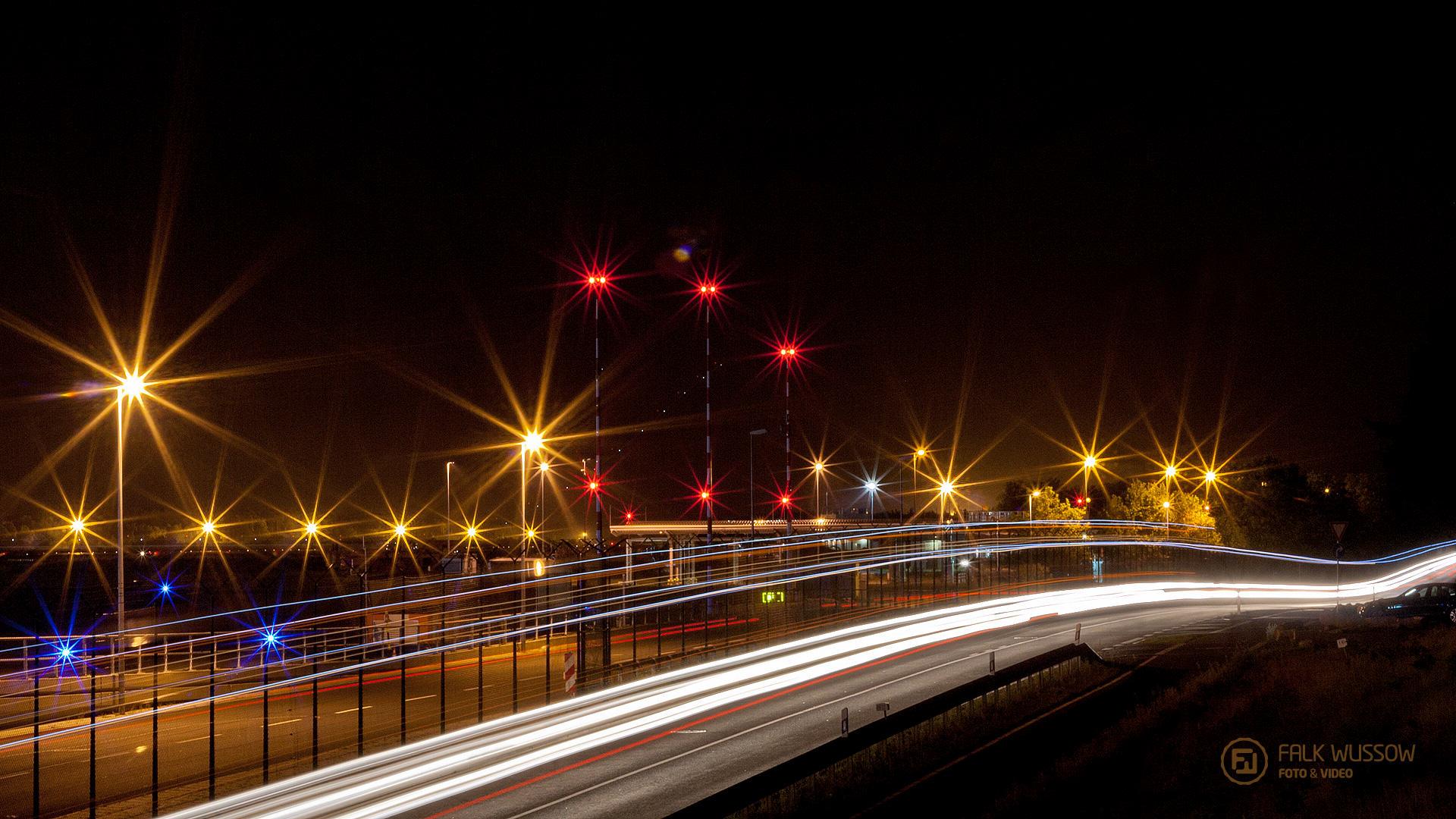 Flughafenlichter